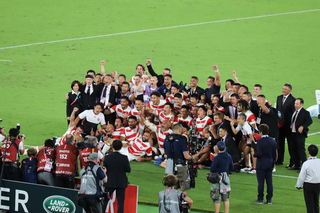 大躍進を遂げた日本選手団