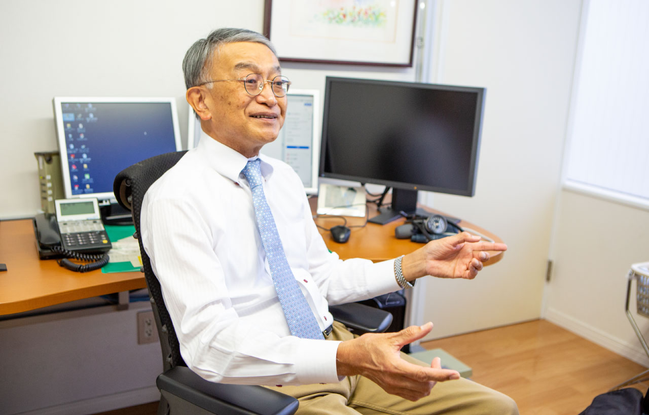 小笠原定雅先生 1