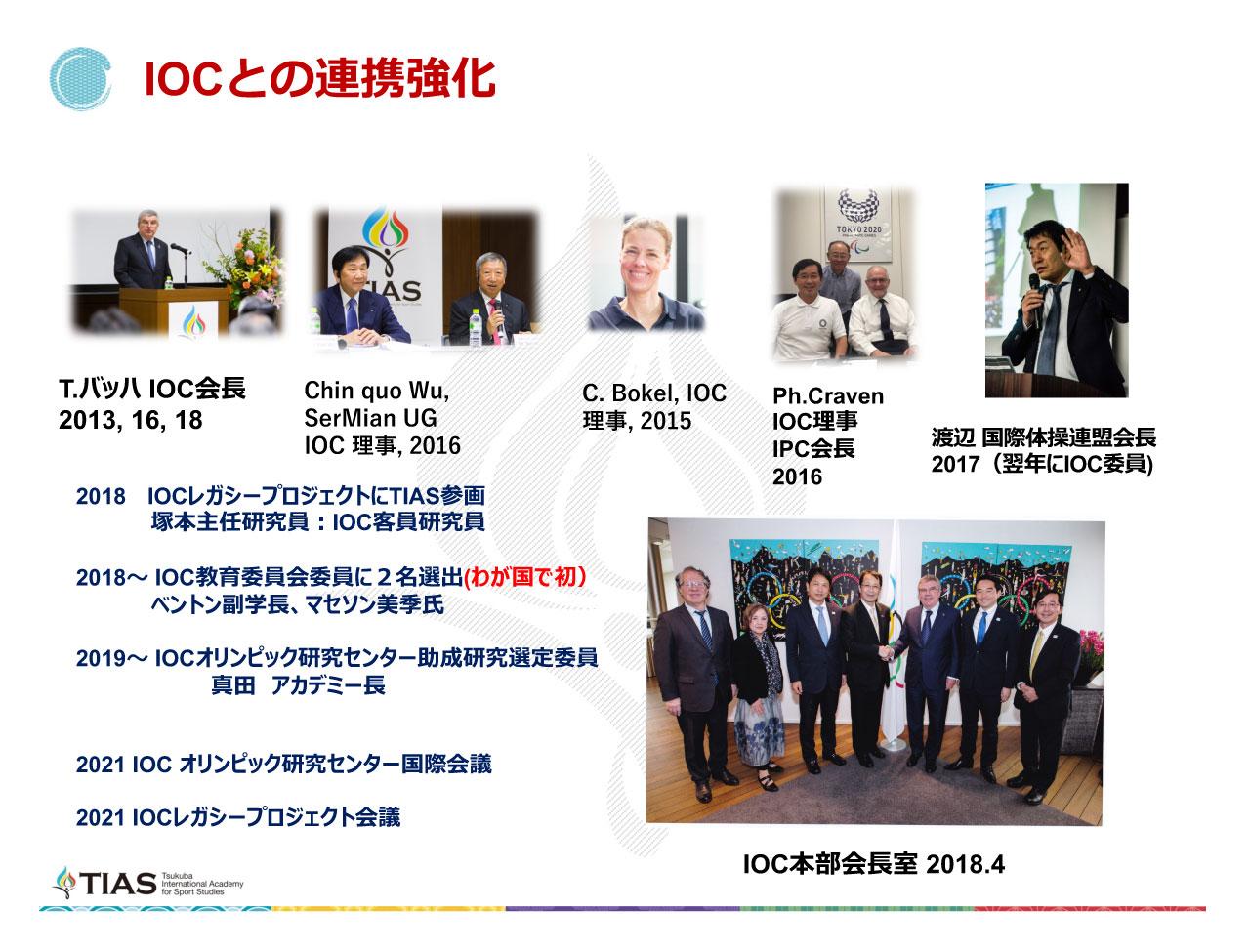 IOCとの連携強化
