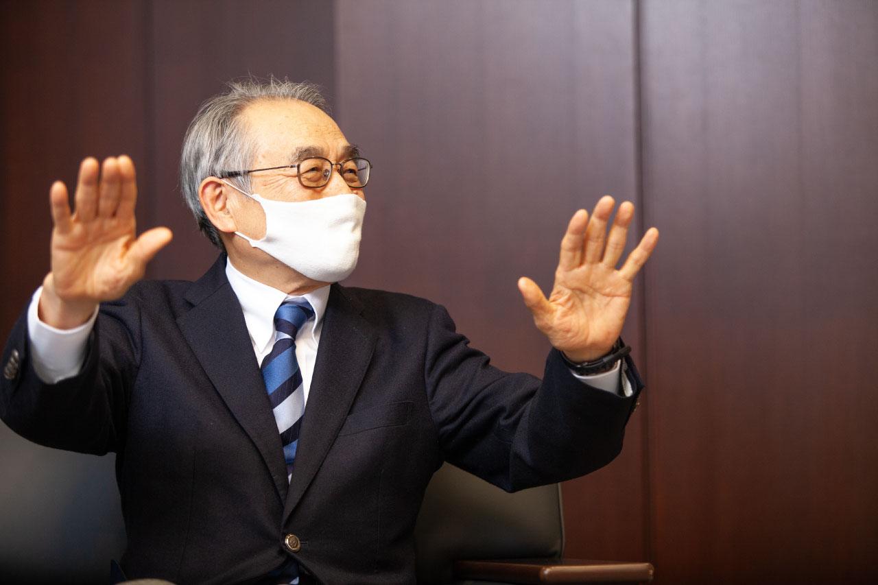 渡辺先生と室伏長官4
