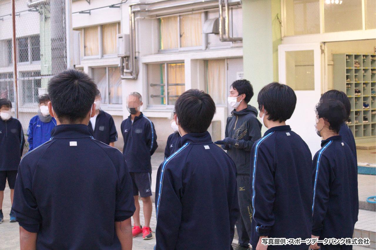 日野第二中学校 陸上部 イメージ