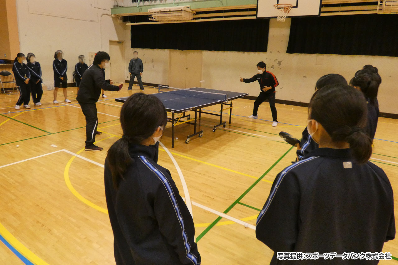 日野第二中学校 卓球部 イメージ