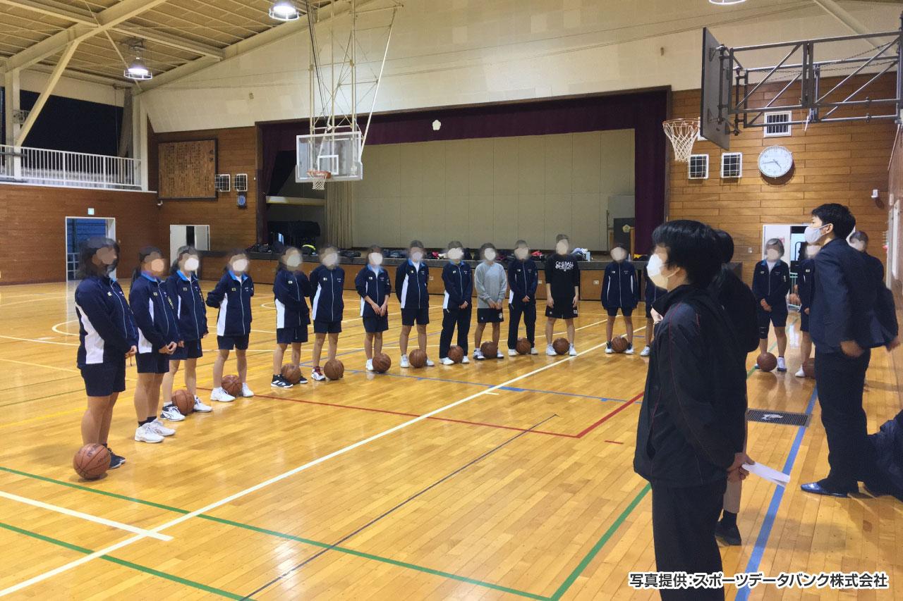 三沢中学校 女子バスケットボール部 イメージ
