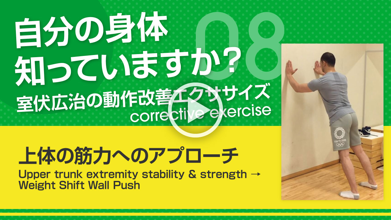 上体の筋力へのアプローチ サムネイル
