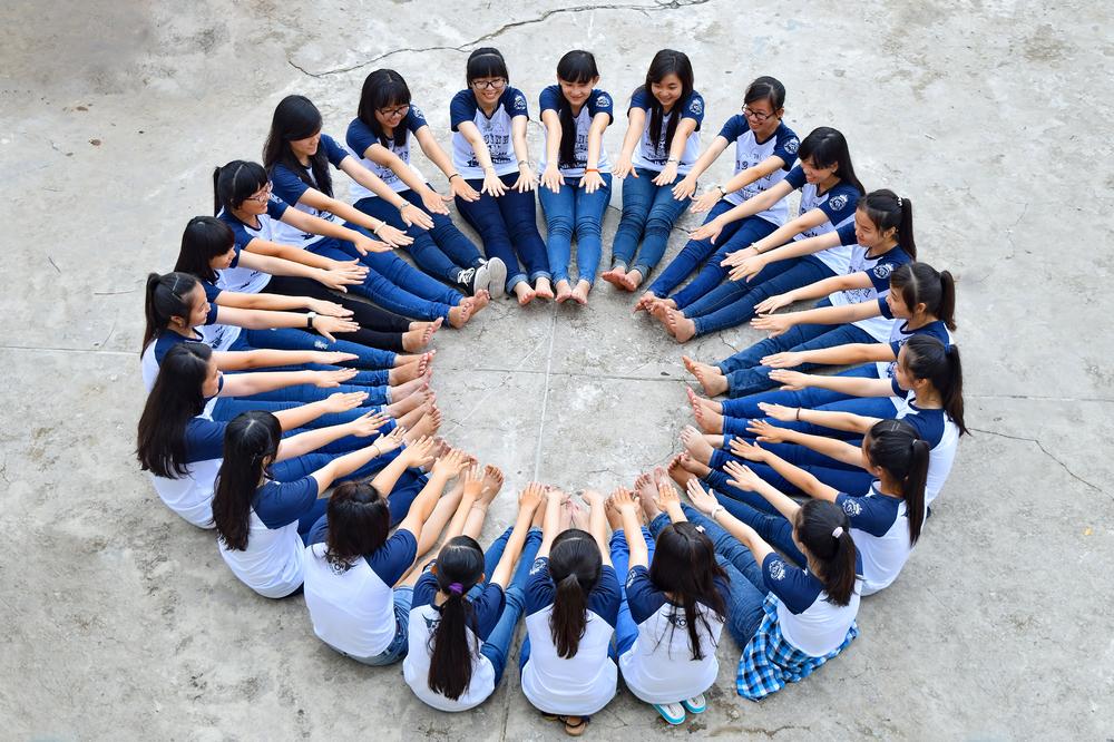 中学生 写真