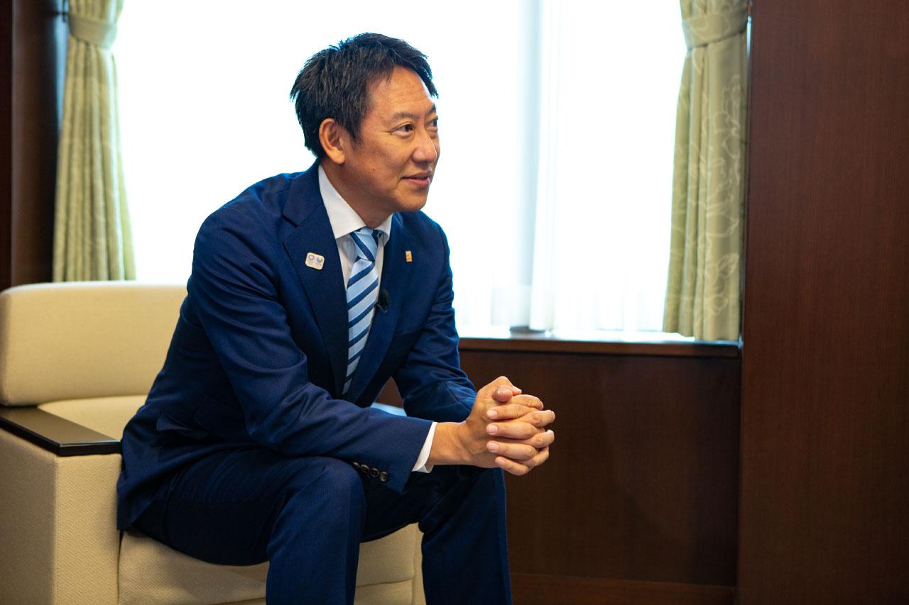鈴木長官、桑田さん、益子さんによる対談の様子6