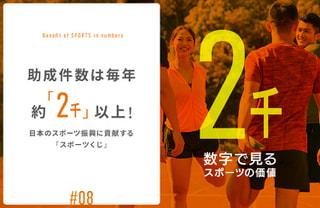 助成件数は毎年約「2千」以上! 日本のスポーツ振興に貢献する「スポーツくじ」