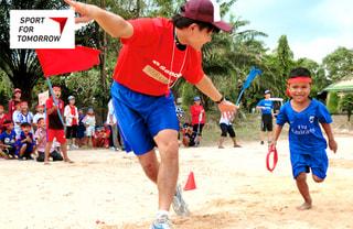 スポーツに国境はない! スポーツを通じた国際貢献「スポーツ・フォー・トゥモロー」でつなげる世界の輪