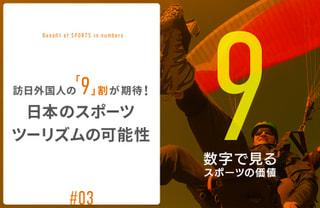 訪日外国人の「9」割が期待!日本のスポーツツーリズムの可能性