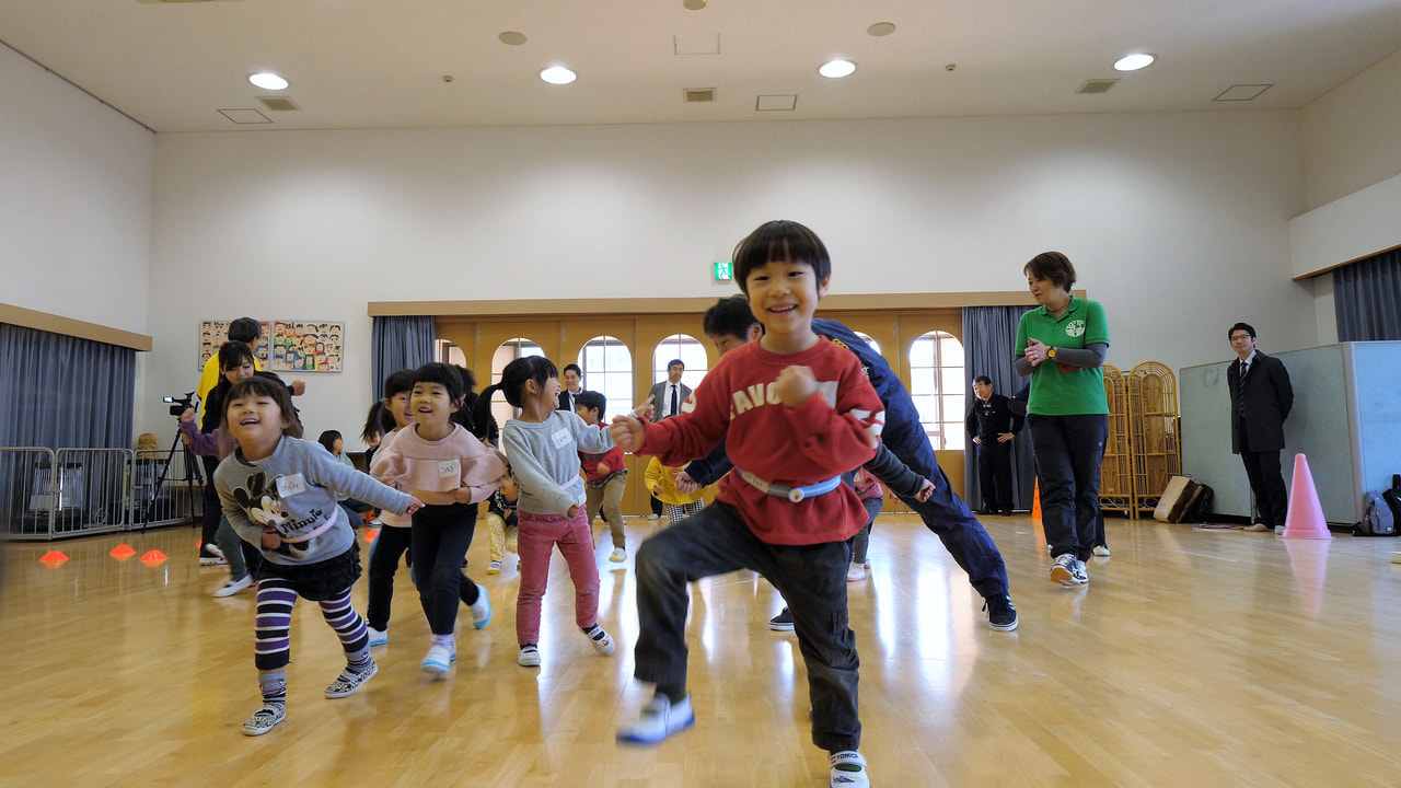 子供の運動習慣アップ支援事業